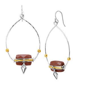Silpada Warm Hues Drop Earrings